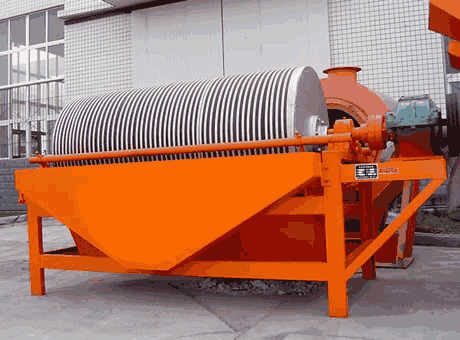 new river sand spiral chute separator in South America