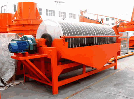 Dry high intensity magnetic separator– Magnetense