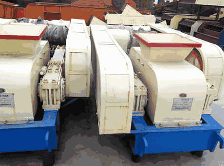 Washington USA North America basalt roll crusher for sale