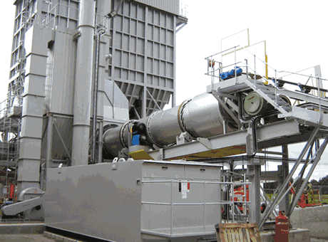 new rock dryer machine in Europe