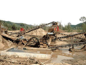 Huishai Laos Southeast Asia new gypsum bucket conveyer