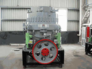 crusher selection for beneficiation plant