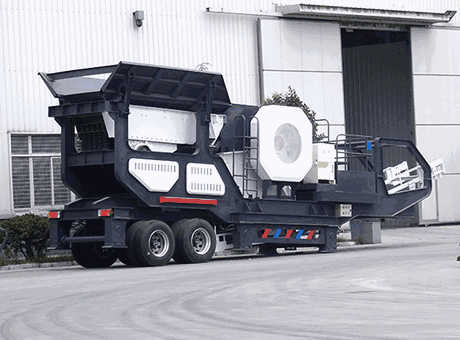 small carbon black mobile crusher in Chile South America
