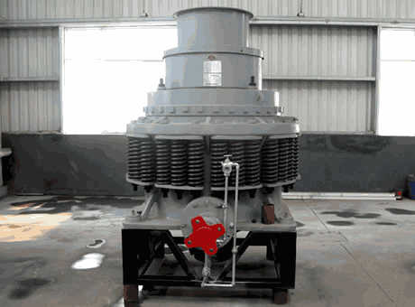 Compound cone crusher  Metron Machinery