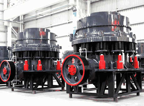 cone crusher allows