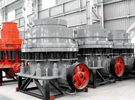 Cone Crushers | Iron Ore Processing Equipment