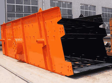 High End Barite CircularVibratingScreen In MadrasIndia